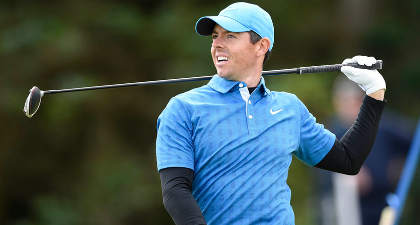 In-Course O.B. Dooms McIlroy's Round At The Start