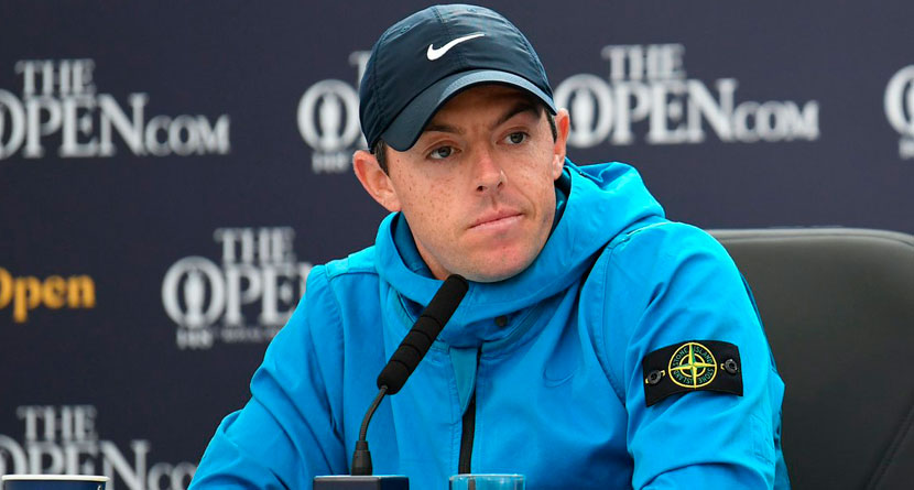 Rory's Open Rain Jacket Retails For $900