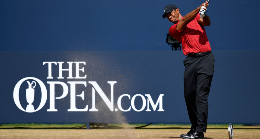 Tiger Waking Up At 1 a.m. To Prep For Open Championship