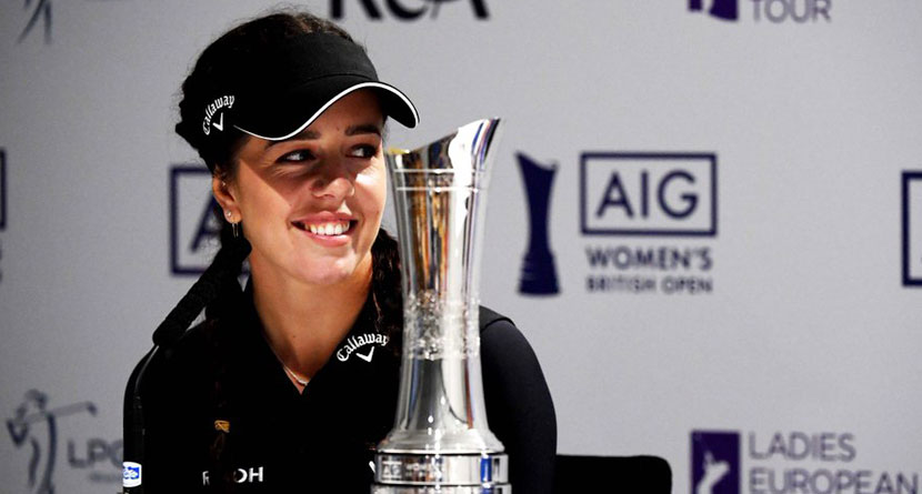 Women's British Open Trophy Stolen From Reigning Champ's Car