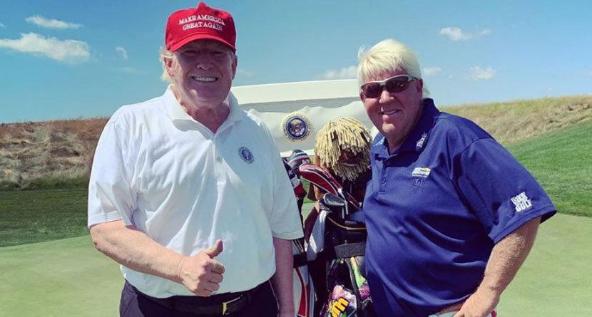 Daly Defends President Trump's Golf Game