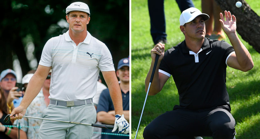 DeChambeau Confronts Koepka About Slow Play Comments