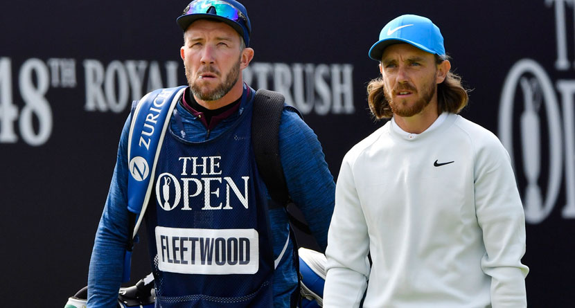 Fleetwood Using Putter Caddie Bought Off eBay