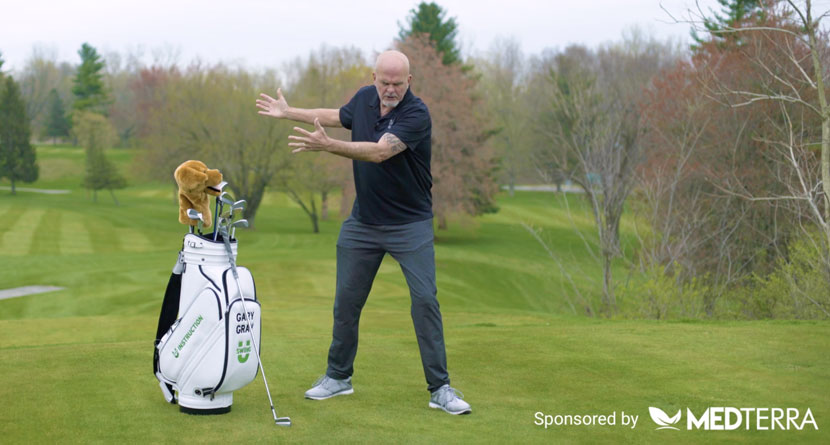Take The Pressure Off Your Knees In The Swing