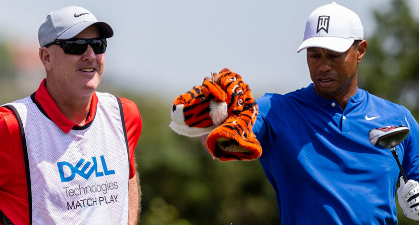 Tiger's Caddie Shares Funny Story Of Joining Woods