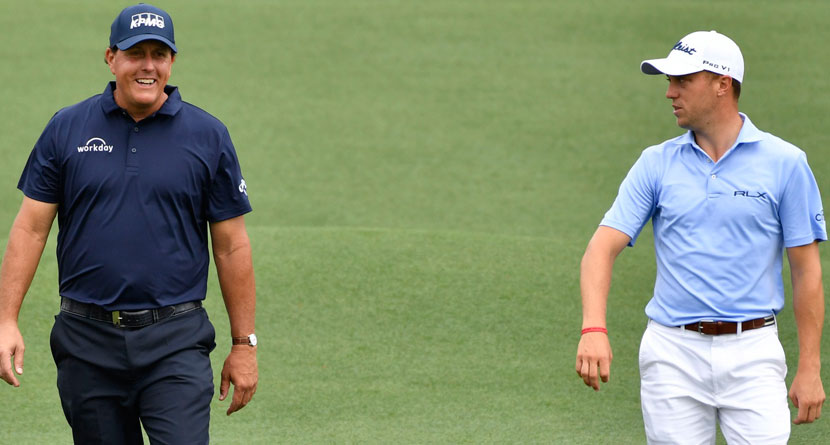 JT Shares Story Of Phil Ripping Him At 2014 U.S. Open