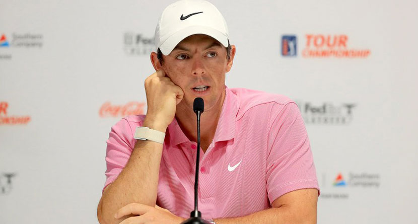 McIlroy Critical Of FedEx Cup's Legacy