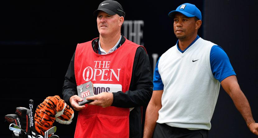 Tiger's Caddie Reveals The Weirdest Thing In His Bag