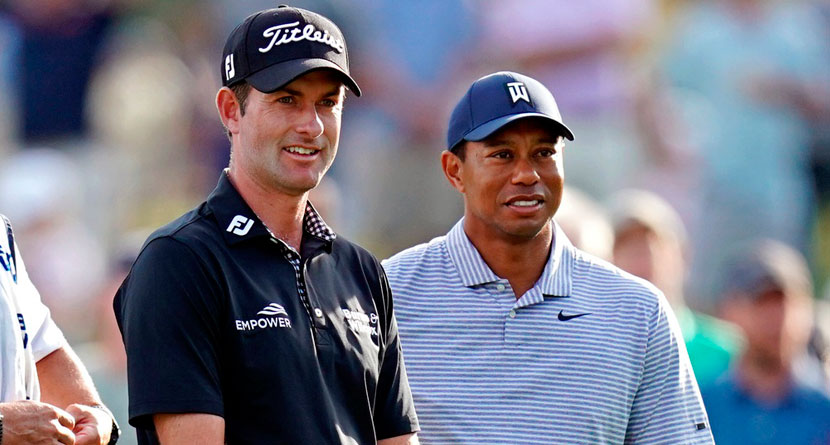 Tiger Shuts Down Simpson's Presidents Cup Complaint