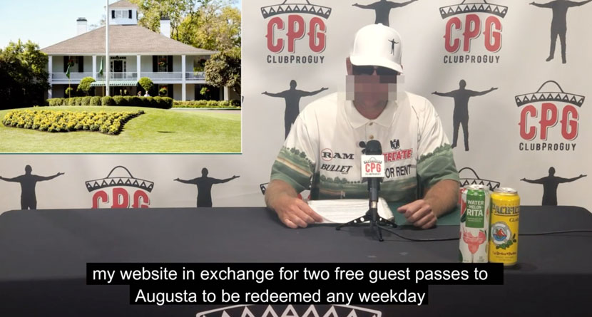 CPG Announces Settlement With Augusta National