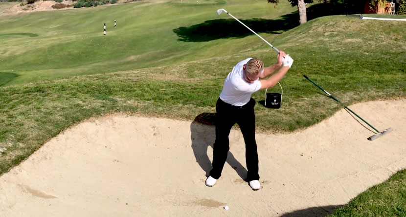 Escape Fairway Bunkers With Nicklaus' Tip