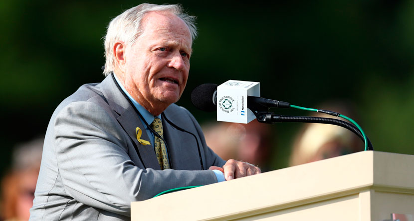 Nicklaus Says New Schedule Negatively Impacts Tour Events
