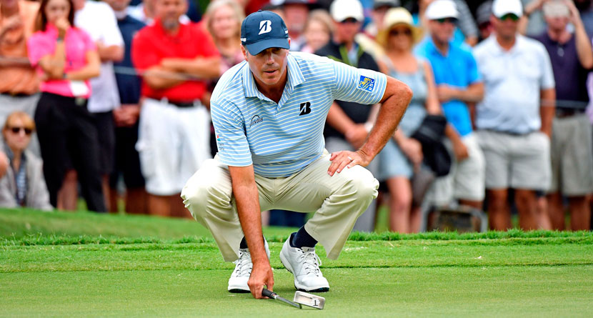 Announcers Heckle Kuchar For Waste Area Landscaping