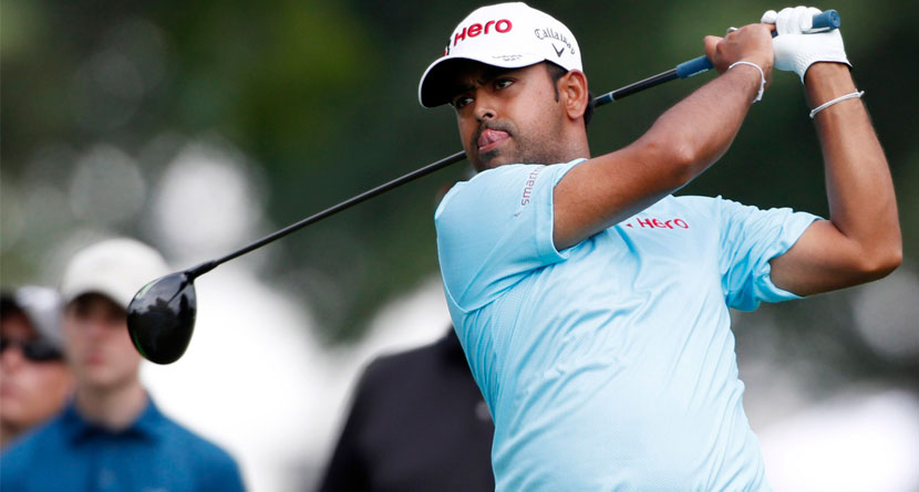 Lahiri WDs From Korn Ferry Tour Finals To Evacuate Family