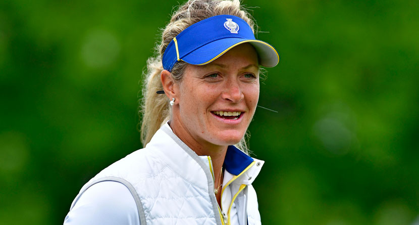 Pettersen Fires Back At U.S. Solheim Cup Trash Talk