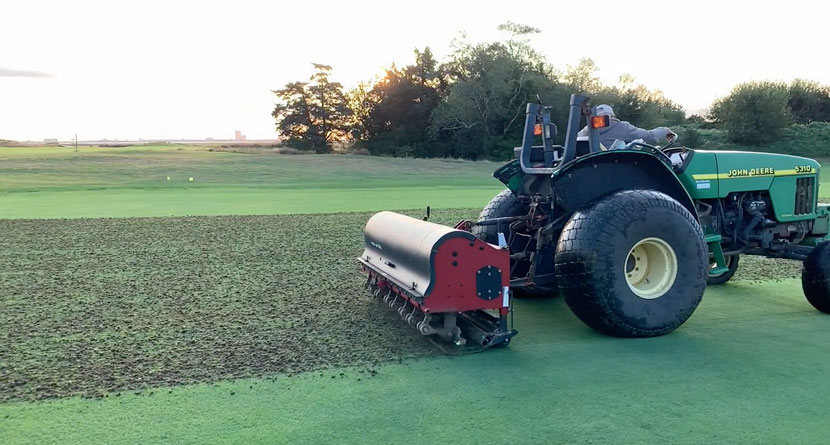 Why Golf Course Aeration Is Important