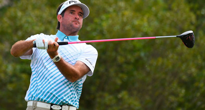 Bubba Hit One Of The Craziest Drives You'll Ever See