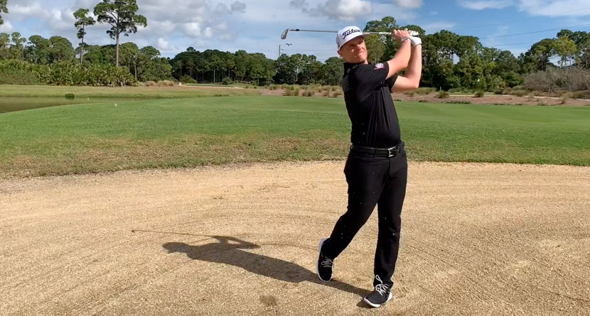 Make Better Contact From Fairway Bunkers