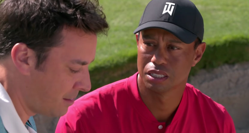Tiger Stars In Hilarious Tonight Show Skit