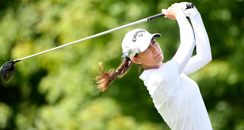 LPGA Pro Penalized For Divot Moving Her Ball