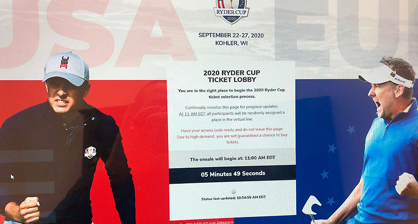 Ryder Cup Fans Furious After Tickets Sell Out