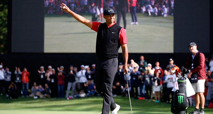 SwingU Recap: Tiger Wins No. 82