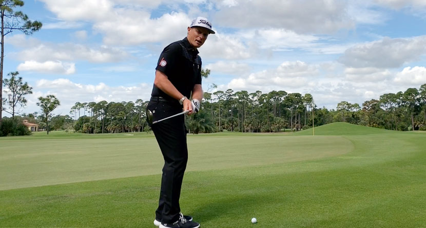 Master Your Pitching Contact With The Furyk Drill