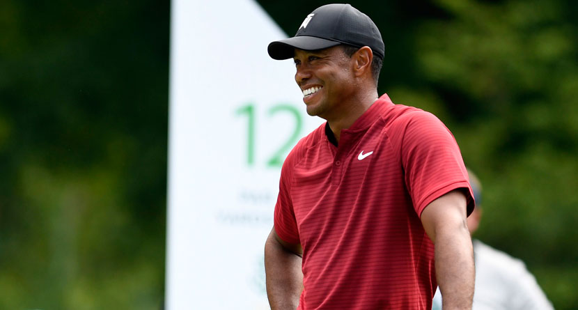 Tiger Drops An F-Bomb During Aussie Radio Interview