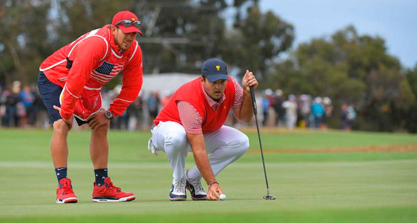 Reed's Caddie Banned After Physical Fan Altercation