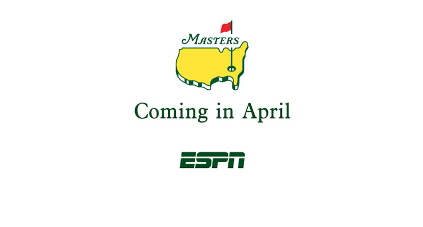 ESPN Airs First 2020 Masters Commercial During CFP