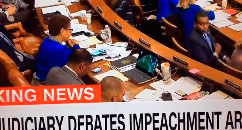 Congressman Caught Streaming Golf During Impeachment Debate