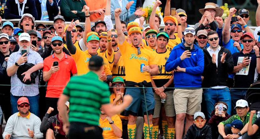 Controversial Prez Cup Fans Were Paid Marketing Partners