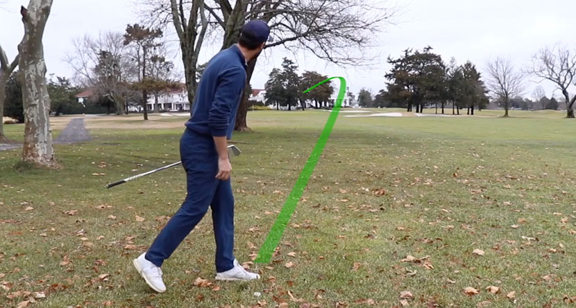 How'd He Hit That: Low Hook Recovery Shot