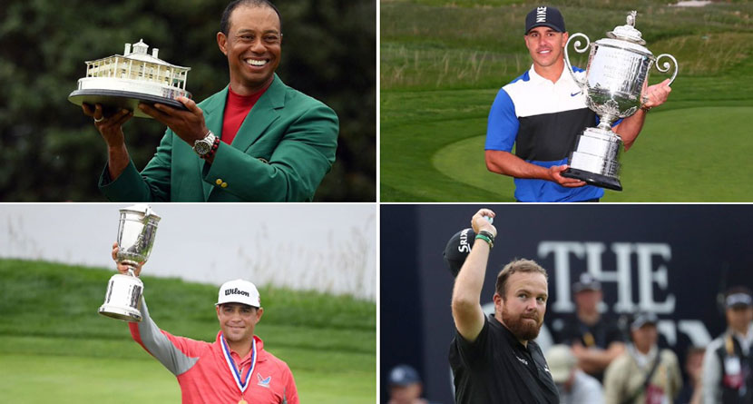 Unlikely Memorable Shots From 2019 Major Champions