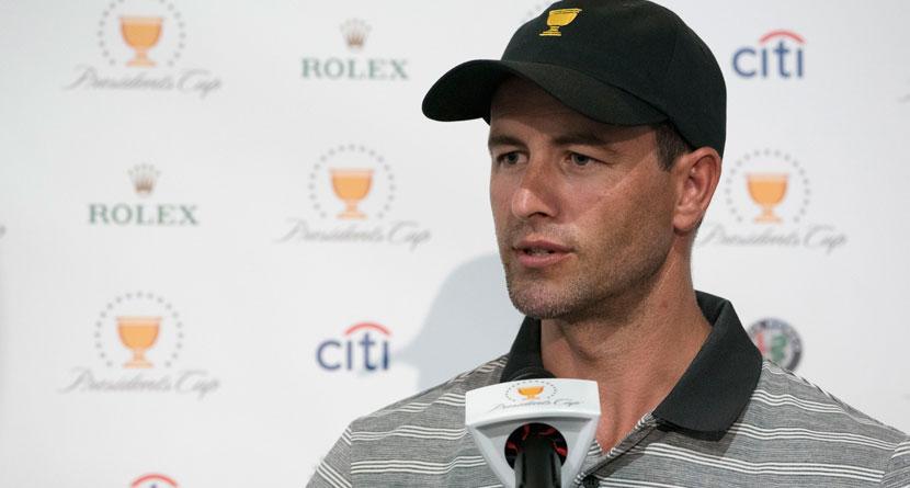 Scott Warns Aussie Fans Against Cheering For Tiger