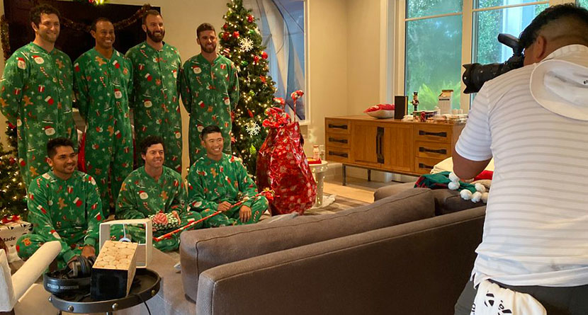How TaylorMade's Hilarious Holiday Card Came To Be