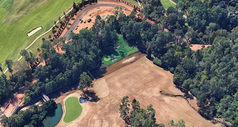 New Aerial Images Show Change Coming To Augusta National