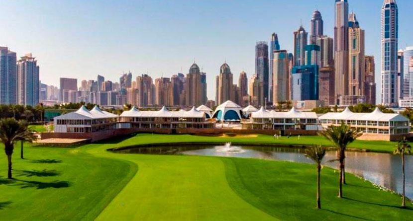 2019 Omega Dubai Desert Classic Leaderboard