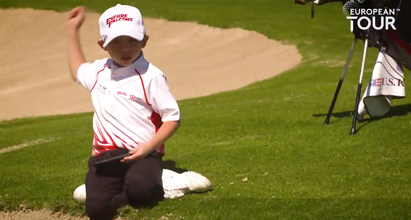 6-Year-Old Offers Harsh Critique Of Koepka's Swing