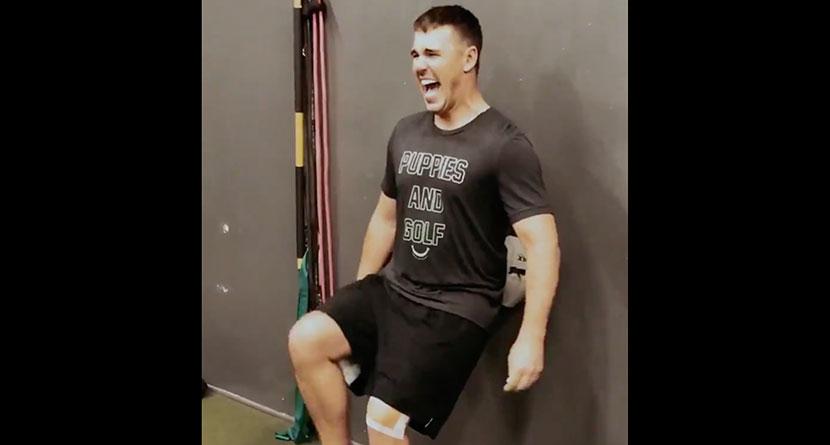 Koepka Teases Return With Rehab Video