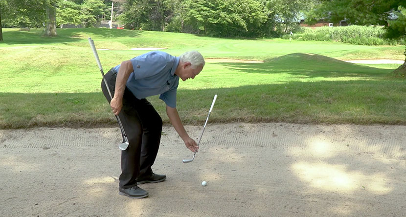 An Easy Trick For Clearing Fairway Bunker Lips