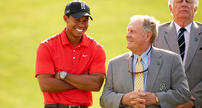 Nicklaus' Theory On What Makes Tiger Great
