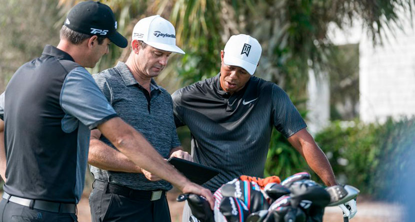 Tiger Testing New Driver, Fairway Wood At Torrey Pines