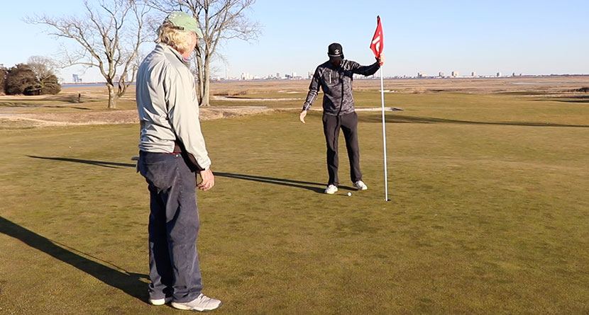 No Penalty For Accidental Deflection Off Playing Partner