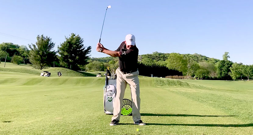 Hit Towering Long-Iron Shots