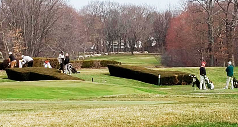 Some Massachusetts Golfers Ignore Ban, Play On