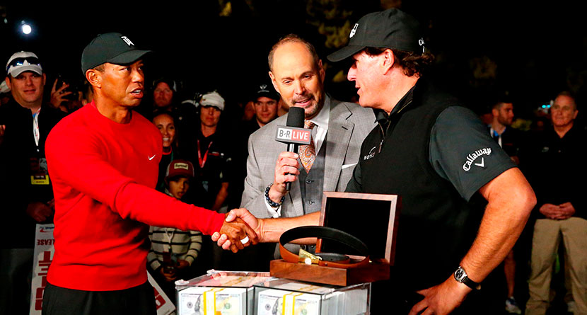 Phil Mickelson Hints At Tiger Woods Rematch During COVID Hiatus