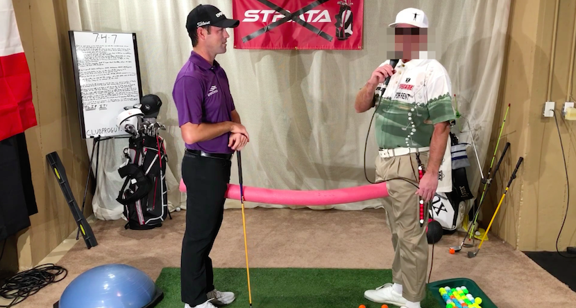 PGA Tour Pro Robert Streb Gets A Lesson From CPG