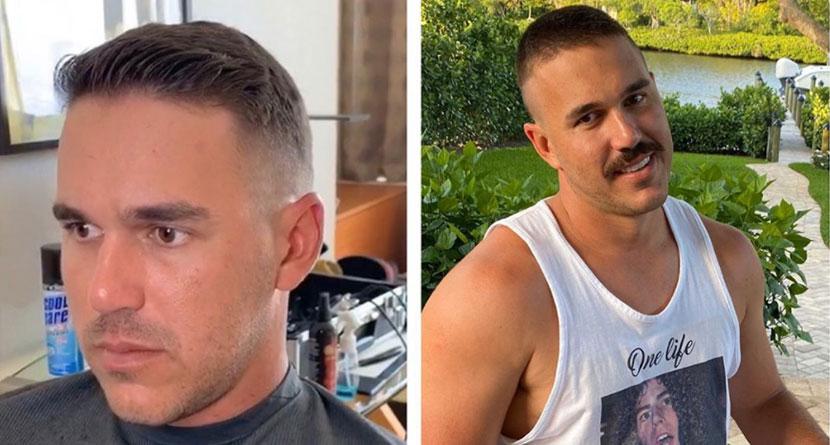 Koepka's Girlfriend Butchers His Quarantine Haircut