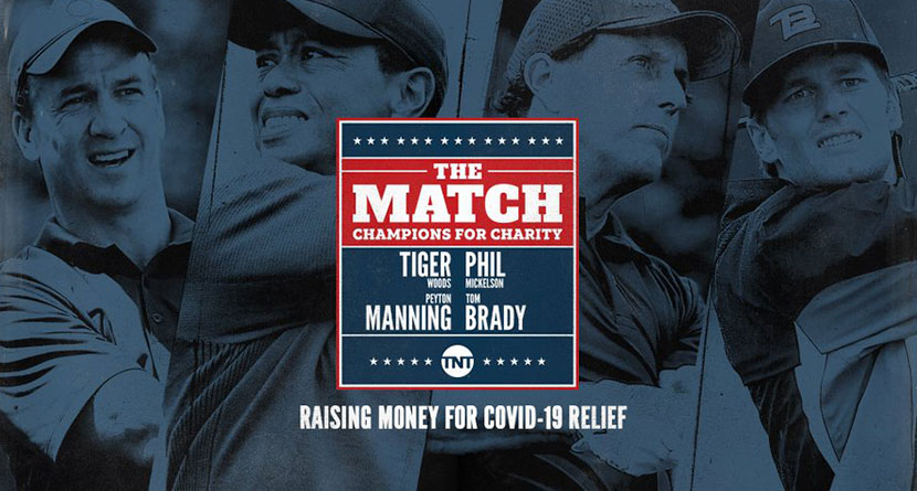 Woods-Mickelson Match With Manning-Brady Confirmed